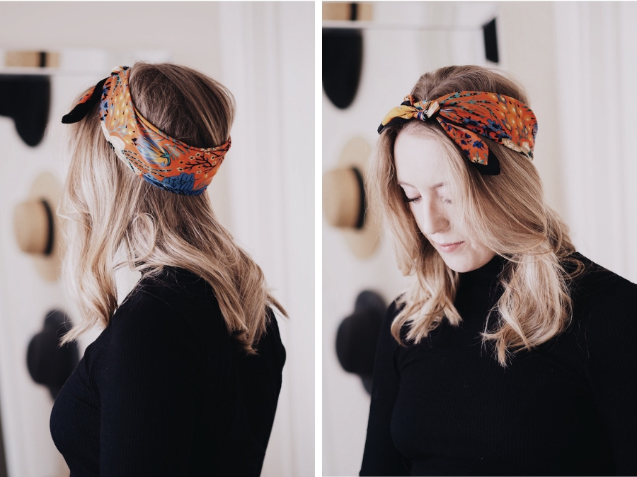22 Ways To Wear A Scarf In Your Hair The Vic Version