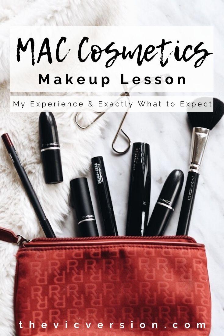 Mac Cosmetics Makeup Lesson The Vic
